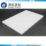 Лист полости поликарбоната высокого качества опаловый белый с UV предохранением