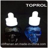 бутылка голубого ясного черепа 30ml стеклянная с Childproof крышкой и тонкой капельницей в Китае