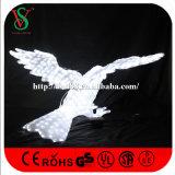 Lumières de motif de Noël 3D de sculpture en aigle