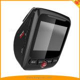 4K se doblan cámara con WiFi, G-Sensor, GPS, grabación del coche de la cámara del bucle. Sobre el coche amonestador DVR de la velocidad