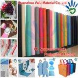 Fornecimento de fábrica 100% polipropileno Spunbond tecido não tecido em rolo