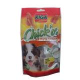 Verpackenbeutel mit wiederversiegelbarem Streifen für Haustier-Imbiß