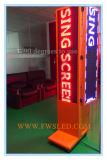 Singolo colore Semi-Esterno P10 che fa pubblicità agli schermi