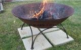 Pozzo Burning di legno del fuoco del ghisa, ciotola di fuoco