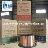Mig-CO2 Kupfer-überzogener Schweißens-Draht Er70s-6 mit Cer, CCS, ISO