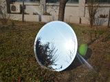 6mm rundes Polier/schrägte Rand-Splitter-Spiegel für Dekoration ab