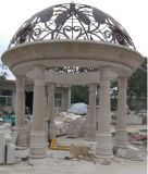 手によって切り分けられる大理石の望楼(MGZ-001)