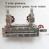 Röhrenförmiges waagerecht ausgerichtetes Anzeigeinstrument-Anblick-Glasglas für das Wasserspiegel-Messen