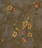 Papier de mur profondément gravé en relief à la maison de décoration