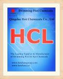 Ácido muriático para la piscina y los productos químicos del BALNEARIO