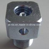 Stahl-CNC-Präzision maschinell bearbeitetes Teil