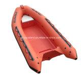 Aqualand 16feet los 4.8m Rib Motor Boat/bote de salvamento de Igid Inflatable (RIB470A)