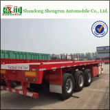Flatbed in serie 20FT 40FT Container Shipping Cargo Trailer