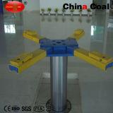 Elevador subterrâneo do carro do único borne hidráulico