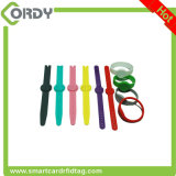 wristbands do silicone de 74mm 125kHz RFID para o adulto