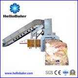 Автоматический связывая горизонтальный бумажный Baler