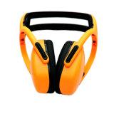 Novo design de moda Proteção de ouvido de plástico Segurança Trabalho Earmuff Snr 29db (CE Aprovado)