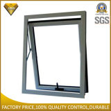 Ventana de cristal doble de aluminio blanca revestida del toldo del marco del polvo (JBD-K23)