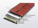Azulejo de material para techos de la fuente 3-Tab Typet de China del precio bajo, ripia colorida del asfalto