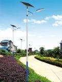 уличный свет ветротурбины 7m Поляк 50W СИД солнечный