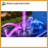 Colorful extérieure Musique Danse fontaine piscine pour un Hôtel