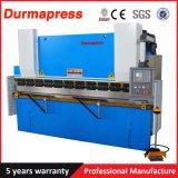 Máquina de dobra hidráulica da placa do CNC Wc67k-100t/3200 para a venda