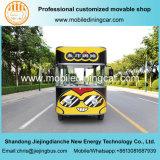 Carro eléctrico móvil frito de los alimentos de preparación rápida del pecho de Chichen de la buena calidad