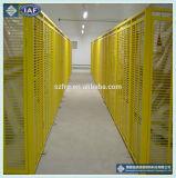 Frontière de sécurité décorative en verre de fibre de bordure de jardin en métal de frontière de sécurité de FRP