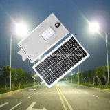 CCTVのカメラが付いている1つの統合されたLEDの太陽街灯の工場屋外6W-120Wすべて