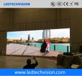El fabricante de la visualización de LED de China, P3.91mm curvó la visualización de LED de alquiler