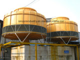 Industrieller runder Kühlturm (Gegenfluß)