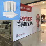 Fabricante profesional de tarjeta de la espuma del PVC para hacer publicidad