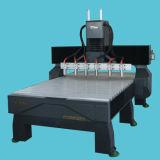 Mehr Hauptspindel CNC-Holzbearbeitung, die Maschinerie schnitzt