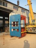 2017熱い販売80tフレームの加硫の出版物油圧加硫のまたはフレームの加硫機械