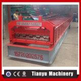 Rodillo de acero de la cubierta de suelo del perfil de la mayor nivel que forma la máquina