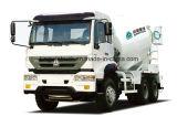 Sinotruk 상표 6X4 구동 장치형 구체 믹서 트럭