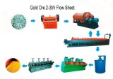 Ouro Ore Mining Line com 5-100tph