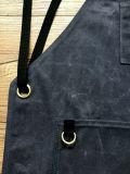 O costume encerou a venda por atacado do avental do trabalho da lona
