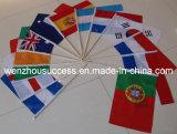 Bandiera nazionale d'ondeggiamento della mano