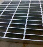 Semelles discordantes de grille de barre en acier/escalier de barre