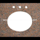 Kitchen/Bathroomのための安いPrice G562 Granite Stone Vanity Countertop