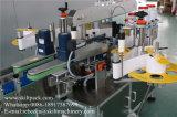 自動2つのラベルの丸ビンの前部背部分類機械