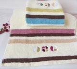 工場卸し売り安い価格の綿の表面タオル