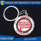Metal Rotated Keychain para Presentes Promocionais