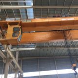 Grúa de arriba del diseño europeo doble de la viga con maquinaria de elevación del alzamiento eléctrico