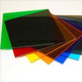 De hittebestendige StandaardGrootte van het Blad van de Kleur van de anti-Kras Transparante Acryl