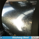 bobine en acier galvanisée plongée chaude de 0.13-6.0 millimètre pour le matériau de toiture