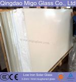 3.2mm Customized Low Iron Toughened (ARC) Solar Glass Panels