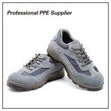 Zapatos de seguridad baratos del trabajo del cuero genuino