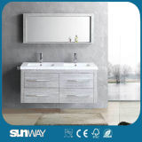 Горячая мебель ванной комнаты меламина сбывания с зеркалом